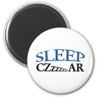 Sleep Czzzzzar Fridge Magnets
