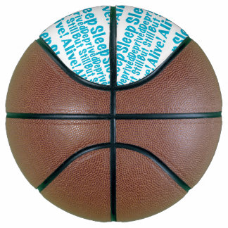 Sleep Deprived But Still Alive in Blue Basketball