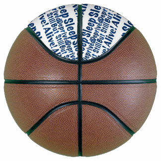 Sleep Deprived But Still Alive in Dark Blue Basketball