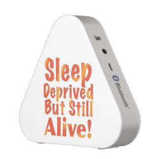 Sleep Deprived But Still Alive in Fire Tones Speaker