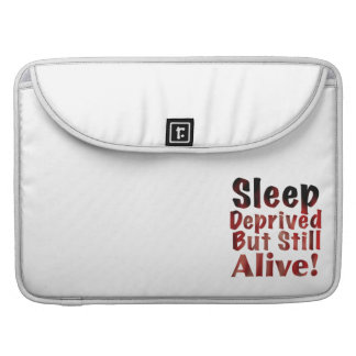Sleep Deprived But Still Alive in FireandBrimstone MacBook Pro Sleeve