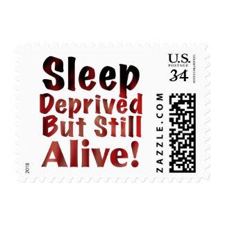 Sleep Deprived But Still Alive in FireandBrimstone Postage