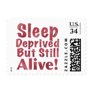 Sleep Deprived But Still Alive in Raspberry Postage