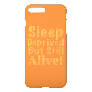 Sleep Deprived But Still Alive in Sleepy Purples iPhone 8 Plus/7 Plus Case