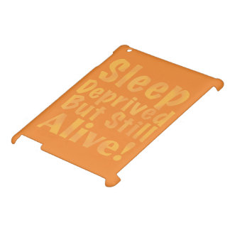 Sleep Deprived But Still Alive in Yellow iPad Cover