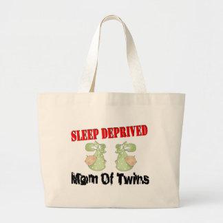 Sleep deprived mom of TWINS Tote Bags
