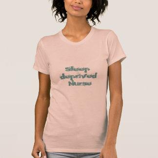 Sleep Deprived Nurse-Humor T Shirt