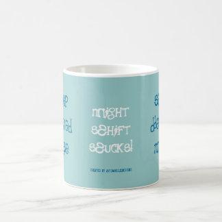Sleep Deprived Nurse! Classic White Coffee Mug