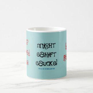 Sleep Deprived Nurse!-Night Shift Classic White Coffee Mug