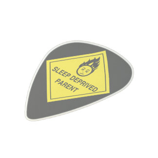 Sleep Deprived Parent Acetal Guitar Pick