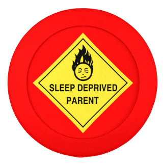 Sleep Deprived Parent Button Covers