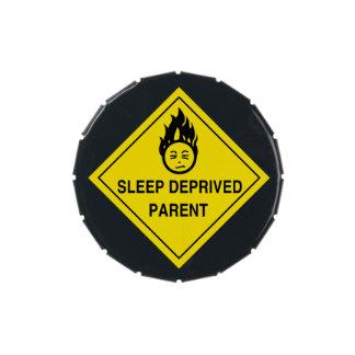Sleep Deprived Parent Candy Tins