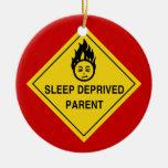Sleep Deprived Parent Christmas Tree Ornament