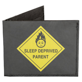 Sleep Deprived Parent Tyvek® Billfold Wallet