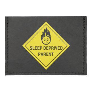 Sleep Deprived Parent Tyvek® Card Case Wallet