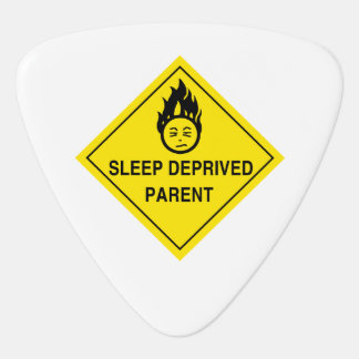 Sleep Deprived Parent Guitar Pick