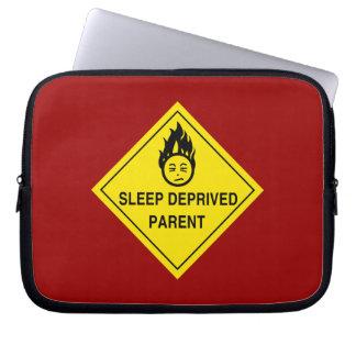 Sleep Deprived Parent Laptop Sleeve