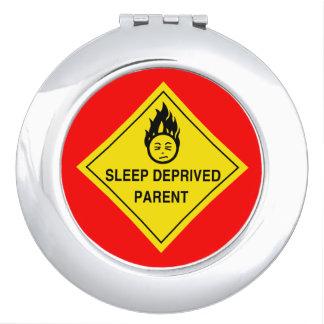 Sleep Deprived Parent Mirror For Makeup