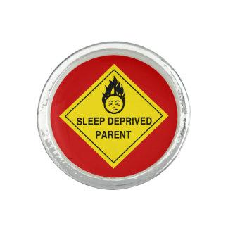 Sleep Deprived Parent Photo Ring