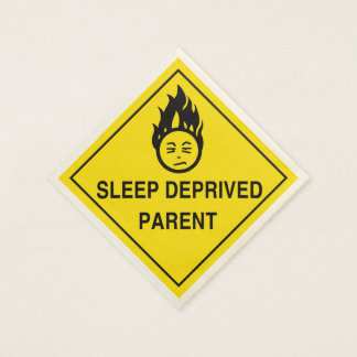 Sleep Deprived Parent Standard Cocktail Napkin