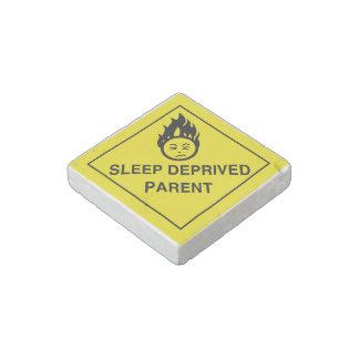 Sleep Deprived Parent Stone Magnet
