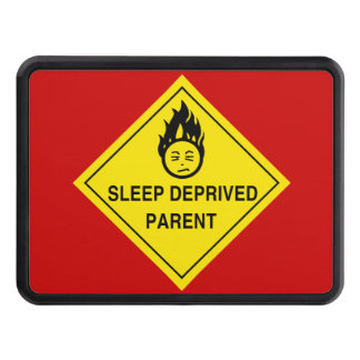 Sleep Deprived Parent Trailer Hitch Cover