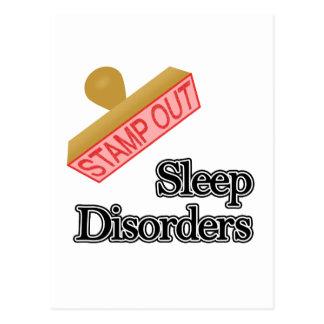 Sleep Disorders Postcard
