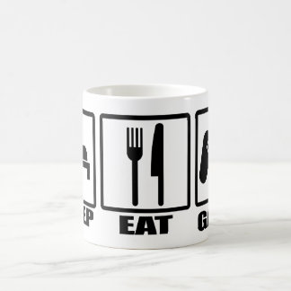 Sleep Eat and Game Coffee Mug