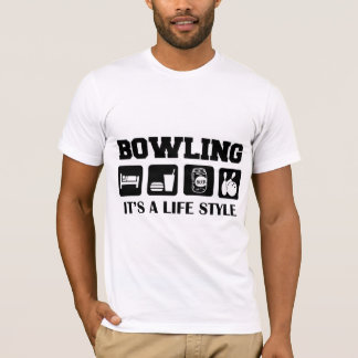 Sleep Eat Drink Beer & Bowling T-Shirt