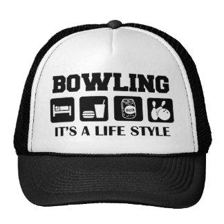 Sleep Eat Drink Beer & Bowling Trucker Hat