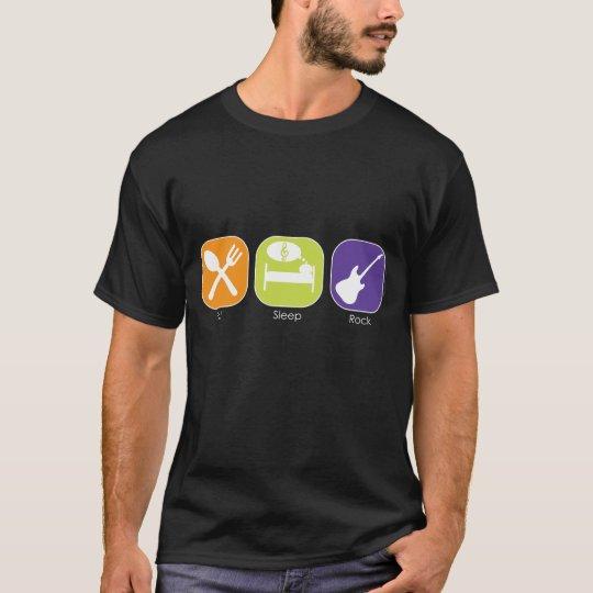 Sleep Eat-Rock T-Shirt
