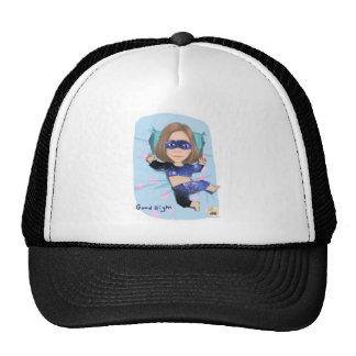 sleep girl trucker hat