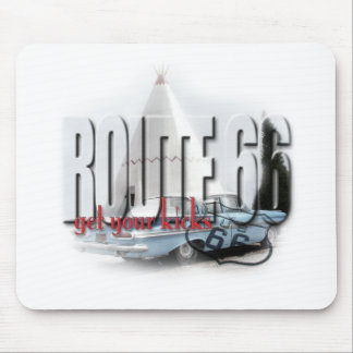 Sleep in a Wigwam - Route 66 Mouse Pad