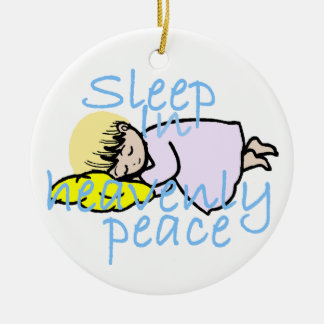Sleep in Peace Ornament