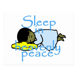 Sleep in Peace Postcard