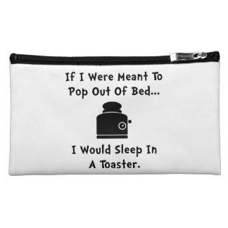 Sleep In Toaster Makeup Bag
