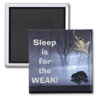 Sleep is for the WEAK! Magnet