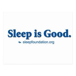 Sleep is Good Postcard