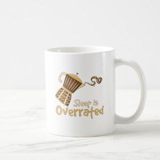 Sleep Is Overrated Classic White Coffee Mug