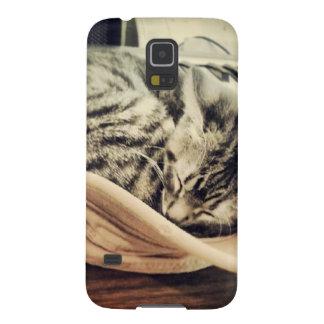Sleep Kitten Galaxy S5 Cases