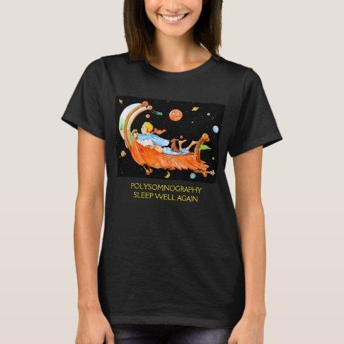 SLEEP LAB POLYSOMNOGRAPHY T_Shirt