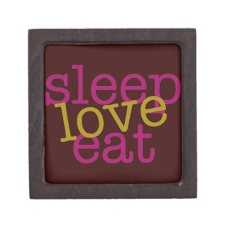 Sleep Love Eat Gift Box