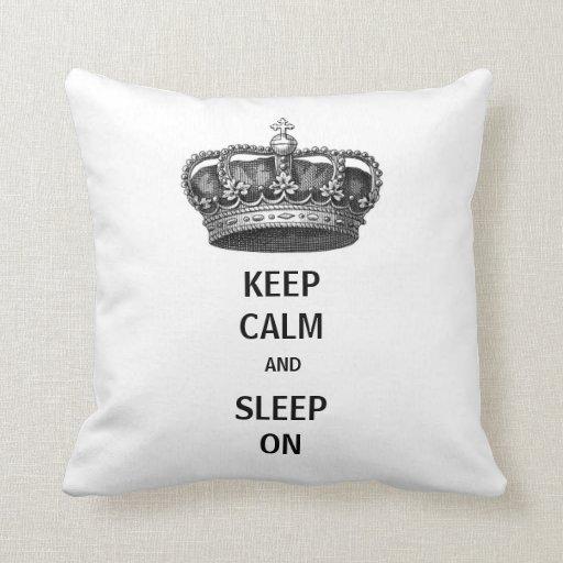 Sleep On Pillow