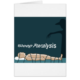 Sleep Paralysis supernatural event and condition Card