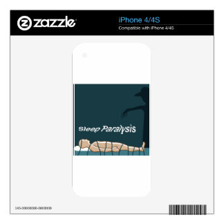 Sleep Paralysis supernatural event and condition iPhone 4 Decal
