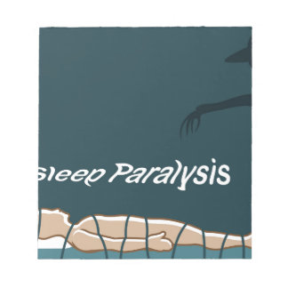 Sleep Paralysis supernatural event and condition Notepad