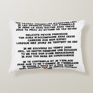 SLEEP - Poem - François Ville Accent Pillow