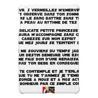 SLEEP - Poem - François Ville Cover For The iPad Mini