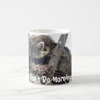 Sleep Racoon Coffee Mug
