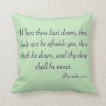 Sleep Scripture Pillow